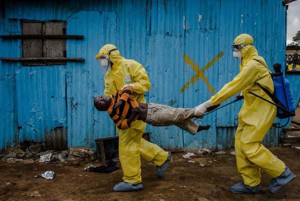 đại dịch Ebola bùng phát và cướp đi sinh mạng của hàng nghìn người