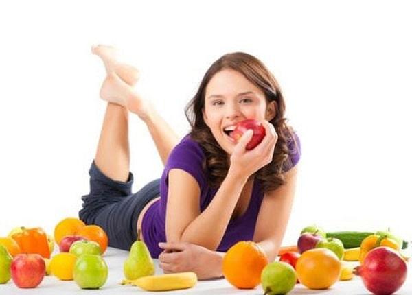 Lấy hoa quả làm món chính