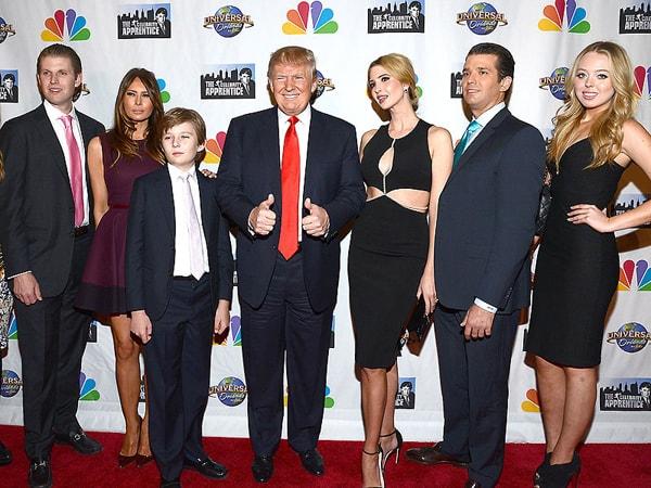 5 người con của Donald Trump với 3 bà vợ