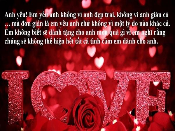 """Gợi ý những lời chúc khiến các nàng """"cực khoái"""" trong ngày Valentine"""