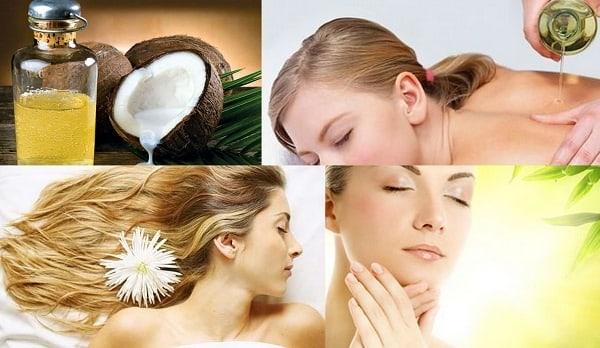 dầu dừa giúp dưỡng da hiệu quả