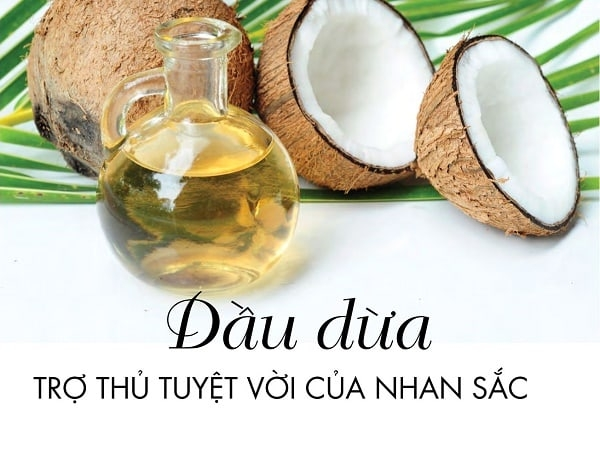 Cách dưỡng da bằng dầu dừa cho phụ nữ sau sinh 1