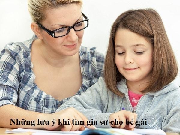 10 Lời khuyên hữu ích khi tìm gia sư cho bé gái