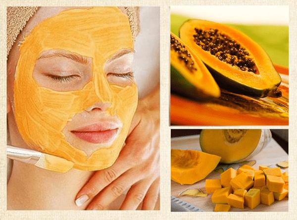 Mặt nạ đu đủ bổ dưỡng, chứa nhiều vitamin