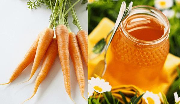 Trị tàn nhang bằng cà rốt