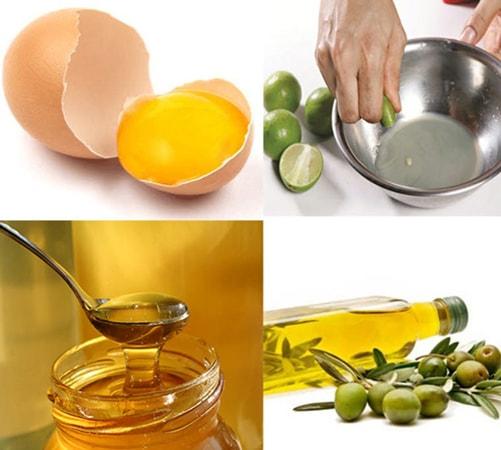 Công thức dưỡng tóc khỏe đẹp bằng dầu dừa, mật ong, chanh
