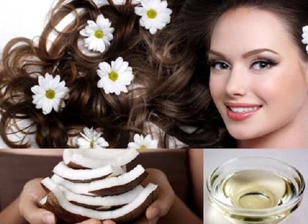 Dầu dừa giúp tóc bạn trở nên mềm mại, ngăn rụng tóc