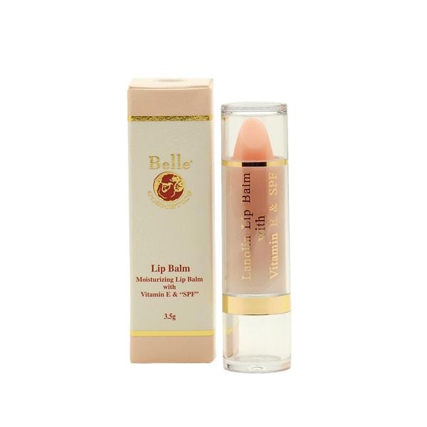 Son chống khô và nứt nẻ môi Lanolin Lip Balm giúp bạn có bờ môi quyến rũ