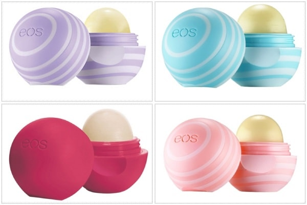 EOS Smooth Sphere Lip Balm  chứa 95% chất chống oxy hóa, giàu vitamin E