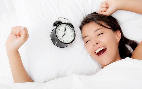 Ngủ sâu, ngủ đủ giấc giúp bạn có nhiều năng lượng