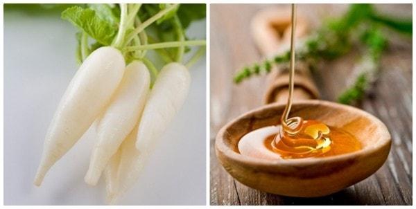 Mặt nạ dưỡng da từ củ cải trắng