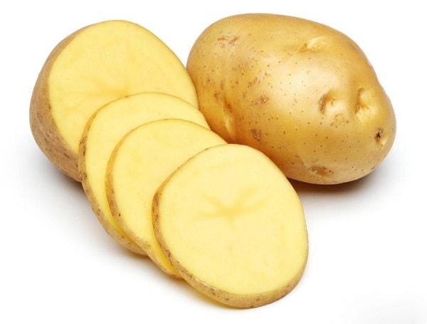 Khoai tây cũng rất tốt cho da bị cháy nắng
