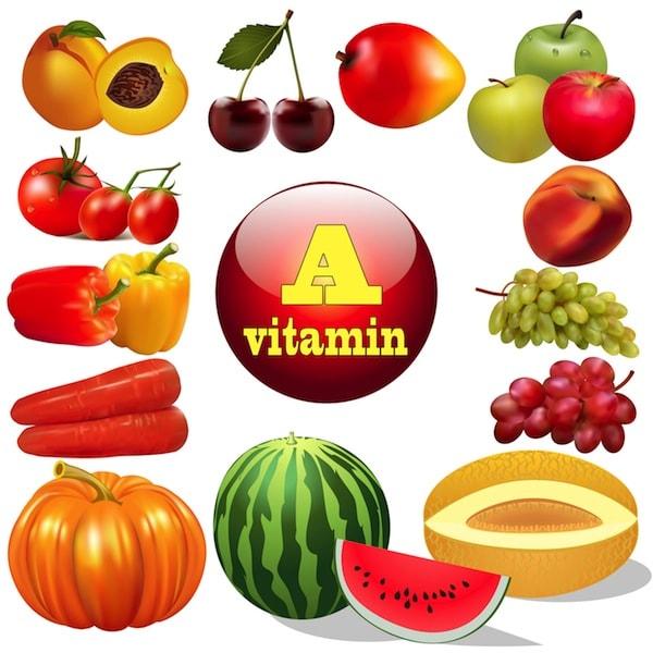 Mẹ bầu cung cấp nhiều thực phẩm giàu vitamin A giúp chống lão hóa da tốt