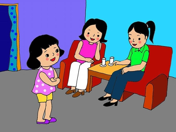 8 phép lịch sự bố mẹ cần dạy con khi đến chơi nhà người khác