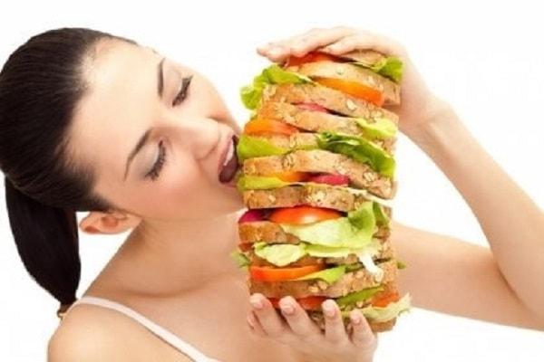 Ăn có chế độ, không nên ăn quá nhiều