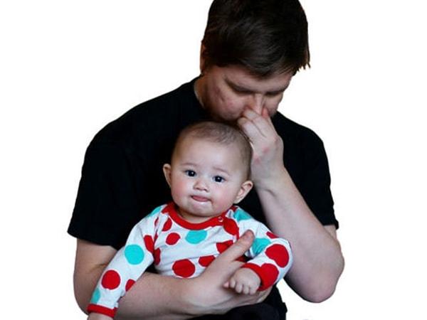 Trẻ sơ sinh bị đầy hơi