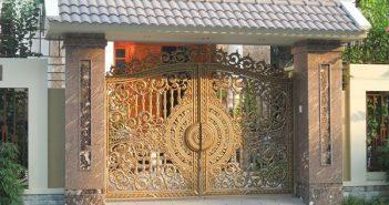 Những lưu ý trong phong thủy cổng và cửa chính