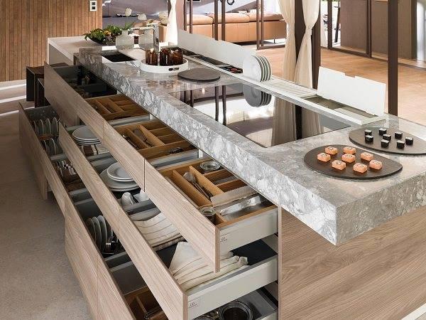 trang trí phòng bếp nhà ống 2