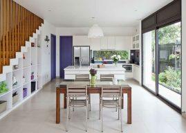 5 mẹo trang trí phòng bếp nhà ống đẹp và tiện lợi