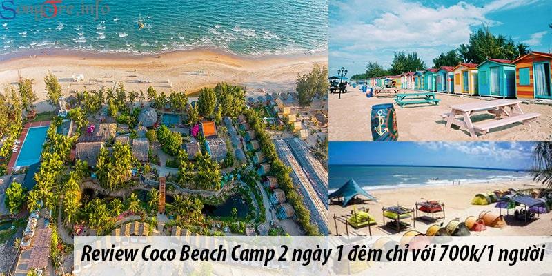 Review Coco Beach Camp 2 ngày 1 đêm chỉ với 700k/1 người