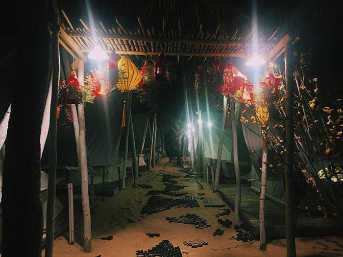 Khu lều ở Coco Beach Camp