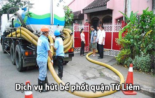 Dịch vụ hút bể phốt quận Từ Liêm