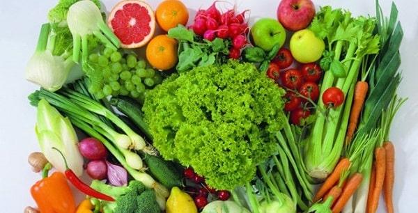 Các loại rau xanh