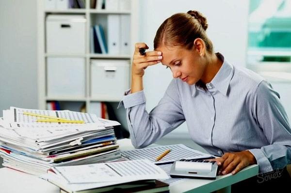 Gặp nhiều sai sót khi làm việc