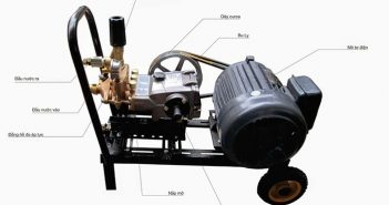 Đặc điểm và ứng dụng của máy rửa xe cao áp Đài Loan