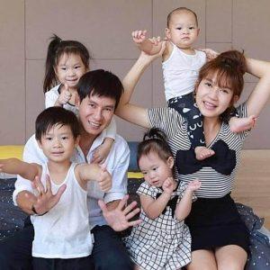 Vợ chồng Lý Hải dạy con tự lập