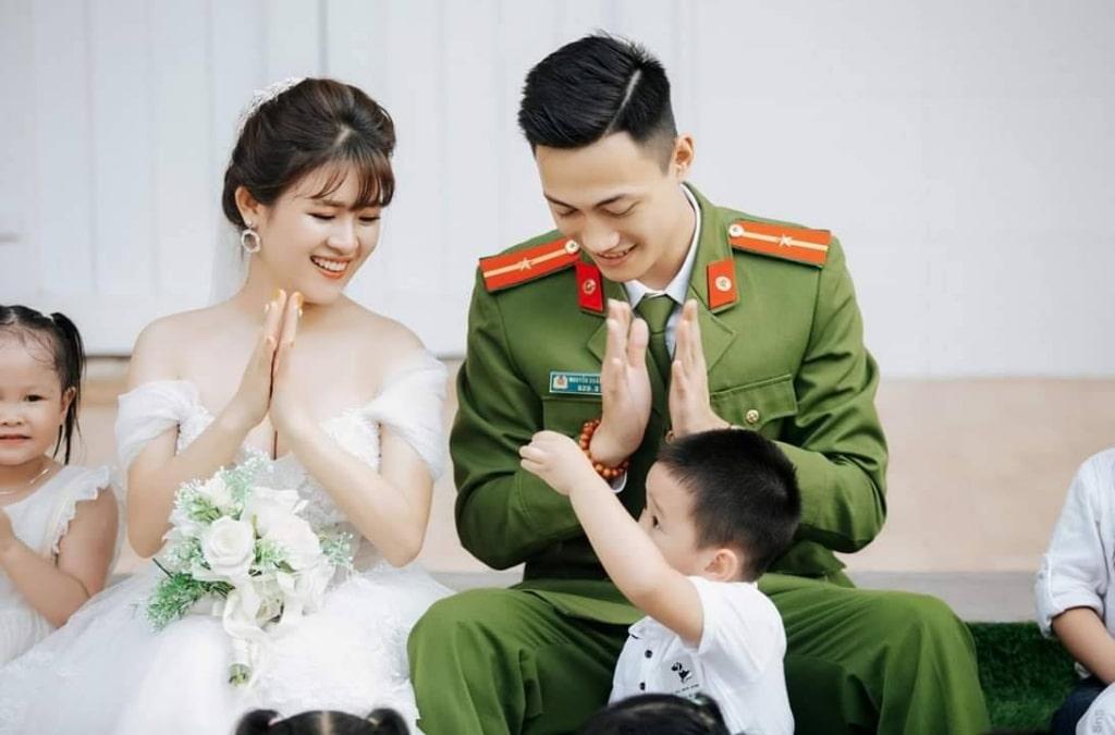 Trên hết người chiến sỹ công an vẫn là người chồng, người cha tốt