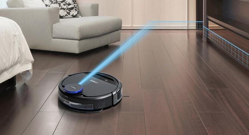 Bẩn cảm biến là 1 trong những sự cố thường gặp trên robot hút bụi thông minh