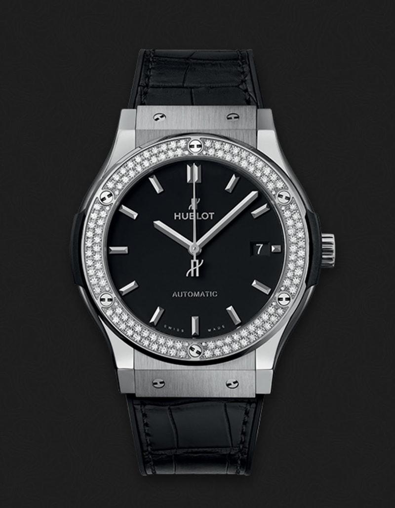 Classic Fusion Titanium Diamond