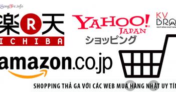 Shopping thả ga với các web mua hàng Nhật uy tín