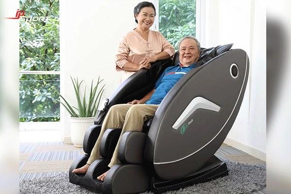 Ghế massage chăm sóc sức khỏe cho người già