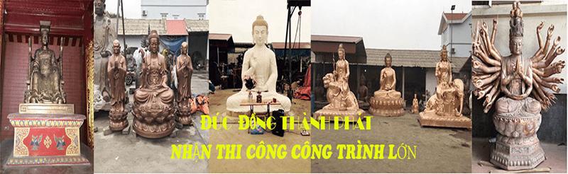 Đồ đồng mỹ nghệ Thành Phát - Địa chỉ đúc tượng Phật đồng uy tín, chất lượng