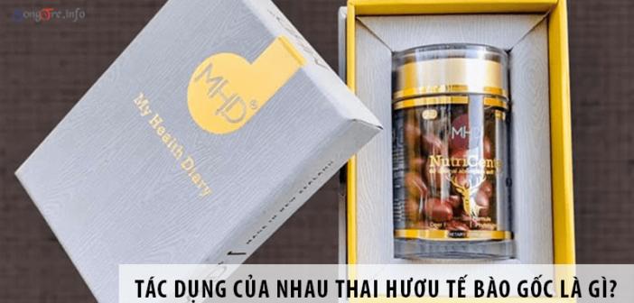 Tác Dụng Của Nhau Thai Hươu Tế Bào Gốc Là Gì?
